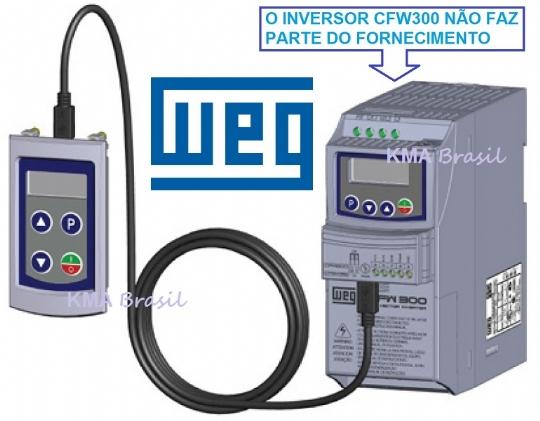 CFW300-KHMIR INTERFACE SERIAL PARA INVERSOR CFW300