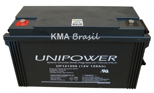 BATERIA SELADA 12V 120AH UNIPOWER UP121200