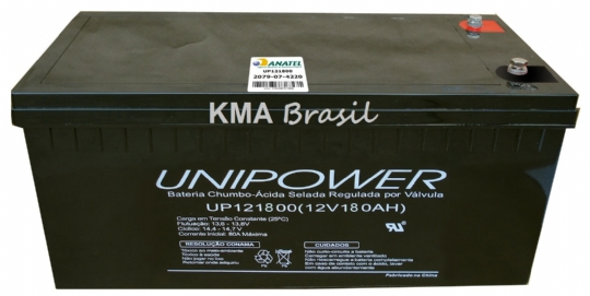 BATERIA SELADA 12V 180AH UNIPOWER UP121800