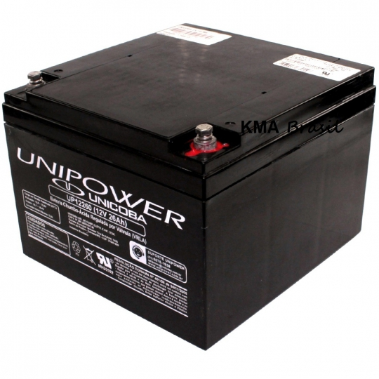 BATERIA SELADA 12V 26AH UNIPOWER UP12260