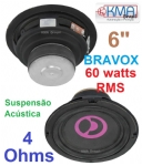 02 Pe�as ALTO-FALANTE BRAVOX FULL-RANGE 6
