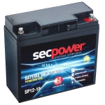BATERIA SELADA 12V 18Ah SEC POWER SP12-18 * NOBREAK JETSKI BIKE SCOOTER CADEIRA RODAS ULTRA LEVE *