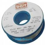 ROLO CARRETEL SOLDA BEST 125 Gramas 1 mm - Sn60% Pb40% - 189MSX10-125