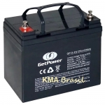 BATERIA SELADA 12V 35AH GETPOWER GP12-35 * NOBREAK JETSKI BIKE SCOOTER CADEIRA RODAS ULTRA LEVE *