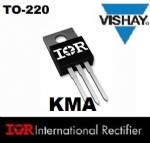 04 Pe�as IRF840A TRANSISTOR MOSFET TO-220 - 500V 8/5,1A