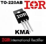 04 Peças IRFB52N15D TRANSISTOR MOSFET TO-220AB - 150V 60/43A