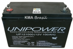 BATERIA SELADA 12V 100AH UNIPOWER UP121000
