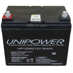BATERIA SELADA 12V 35AH UNIPOWER UP12350
