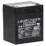 BATERIA SELADA 12V 4,5Ah UNIPOWER UP1245