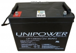 BATERIA SELADA 12V 80AH UNIPOWER UP12800 (P)