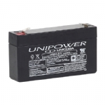 BATERIA SELADA AGM 6V 1,3Ah UNIPOWER UP613