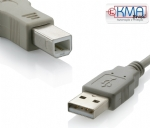 CABO PARA IMPRESSORA USB 2.0 HIGH-SPEED - 1,8 metros - A MACHO x B MACHO