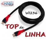 CABO DE VÍDEO HDMI - 3 metros - CONECTORES BANHADOS A OURO ... TOP DE LINHA!!