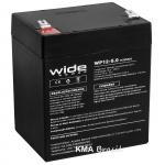 BATERIA SELADA 12V 5AH WIDE WP12-5.0
