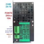 FONTE ESTABILIZADA CHAVEADA 24V 15A MCE -INDUSTRIAL & TELECOM- CHM 24-15