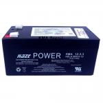 BATERIA SELADA 12V 3,3AH HAZE POWER HMA12-3,3