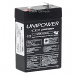 BATERIA SELADA AGM 6V 2,8Ah UNIPOWER UP628