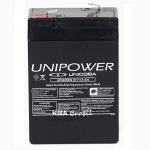 BATERIA SELADA 6V 4,5AH UNIPOWER UP645 SEG